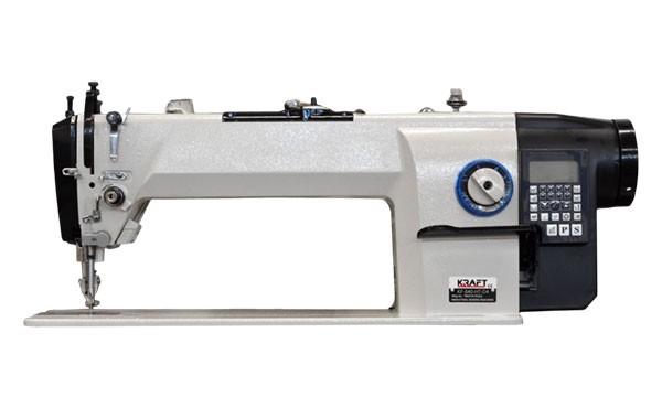 Kraft Industrienähmaschine Zweifachtransport Langarm - Vollautomatik
