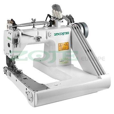 ZOJE Armabwärts Kettenstichmaschine - 3 Nadel / 6 Faden - mit Puller - NEU!