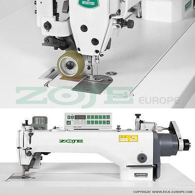 ZOJE Industrienähmaschine -Langarm -46 cm -mit Puller & Fadenabschneider -NEU!