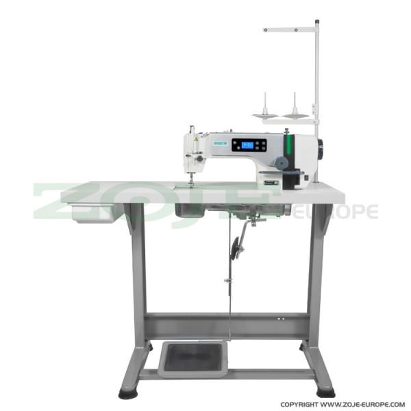 TOP-Angebot: ZOJE ZJ A6000 G Set - Industrie Nähmaschine - Bedienfeld im Nähmaschinenkopf - NEU!