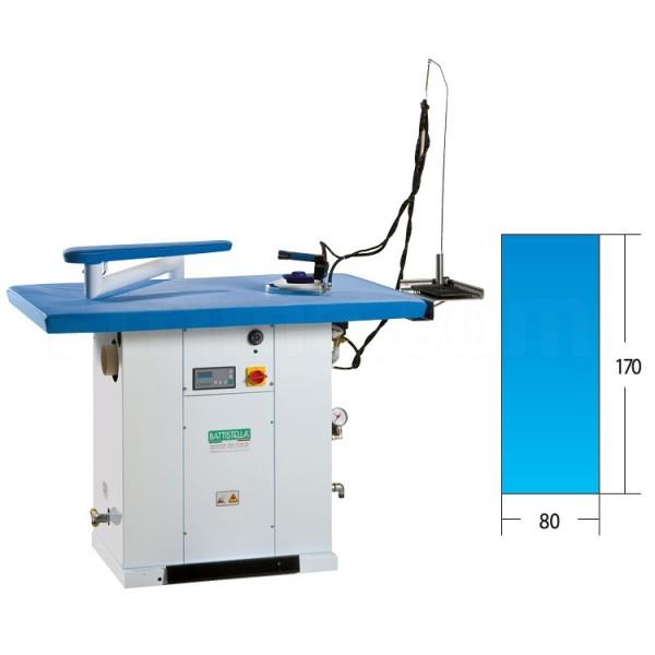 BATTISTELLA Urano Maxi -industrieller Bügeltisch - beheizt mit Absaugfunktion - 170 x 80 cm