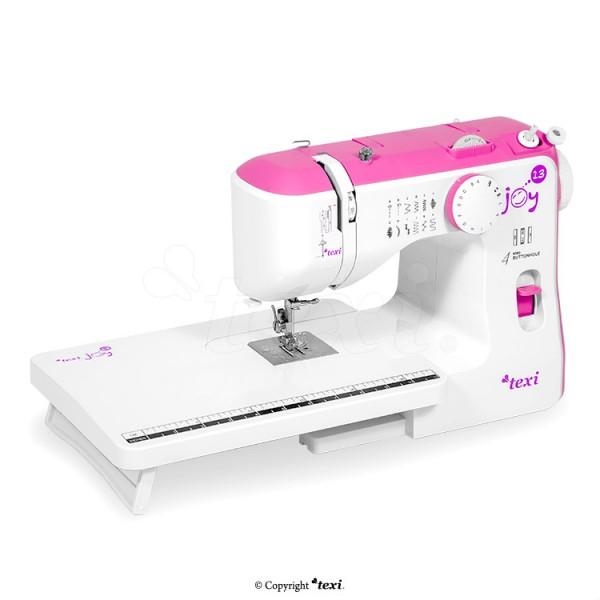 TEXI JOY 13 Pink - Mechanische Nähmaschine - 13 Stichmuster + Tisch
