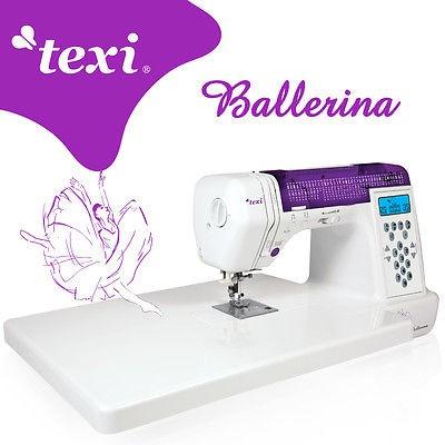 TEXI Ballerina - Computergesteuerte Nähmaschine - NEU!